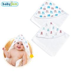 Babyjem - Babyjem Bebek Banyo Havlu Keseli Oklu