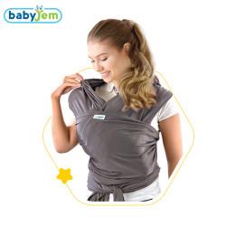 Babyjem - Babyjem Bebek Taşıma Örtüsü Gri