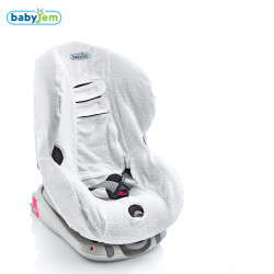 Babyjem - Babyjem Oto Koltuğu Kılıfı Beyaz