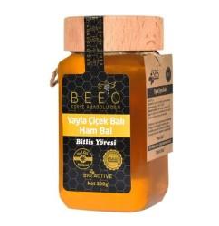 Beeo - BEE'O 300 gr. Yayla Çiçek Balı Bitlis Yöresi (Ham Bal)