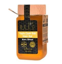Beeo - BEE'O 300 gr. Yayla Çiçek Balı Kars Yöresi (Ham Bal)