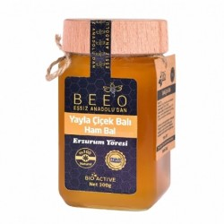 Beeo - BEE'O Erzurum Yayla Çiçek Balı 300gr