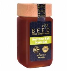 Beeo - Bee'o Kestane Balı (Ham Bal) 500g