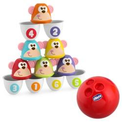 Chicco - Chicco Fit & Fun Maymunlu Bowling