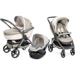 Chicco - Chicco Trio Stylego Travel Bebek Arabası (Truffles)