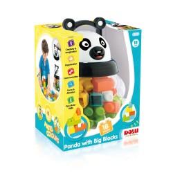 Dolu - Dolu Panda Büyük Bloklu 18 Parça