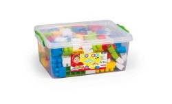 Dolu - Dolu SandıktaBüyük Renkli Bloklar 130 Parça