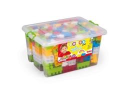 Dolu - Dolu SandıktaBüyük Renkli Bloklar 230 Parça
