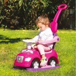 Dolu - Dolu Step Car 4 In 1 Pembe