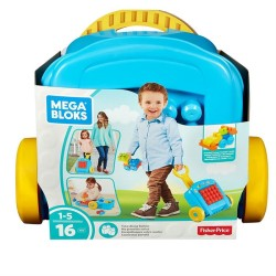 Fisher Price - Fisher Price Mega Bloks® Taşınabilir Arabalı Blok Seti