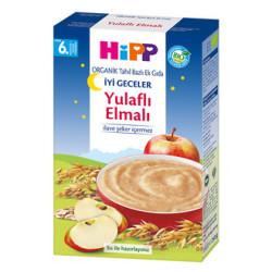 Hipp - Hipp Organik İyi Geceler Yulaflı Elmalı Tahıl Bazlı Ek Gıda