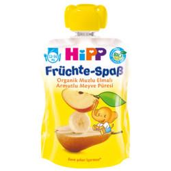 Hipp - Hipp Organik Muzlu Elmalı Armutlu Meyve Püresi