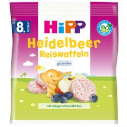 Hipp - Hipp Organik Pirinçli Yabanmersinli Bebek Gofreti