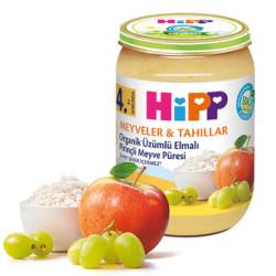 Hipp - Hipp Organik Üzümlü Elmalı Pirinçli Meyve Püresi
