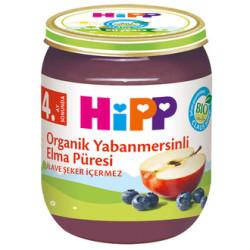 Hipp - Hipp Organik Yabanmersinli Elma Püresi