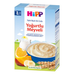 Hipp - Hipp Yoğurtlu Meyveli Tahıl Bazlı Ek Gıda