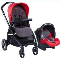 Kraft - Kraft Book Plus Travel Sistem Bebek Arabası - Kırmızı