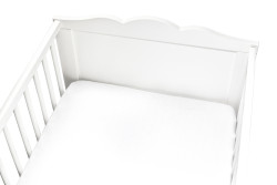 Momeasy - Momeasy 70cm * 140 cm Müslin Çarşaf Beyaz