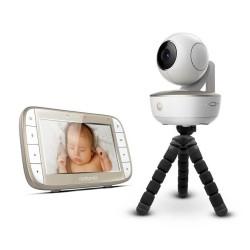 Motorola - Motorola MBP 855 5 İnç LCD Ekran Monitör+HD Wİ-Fİ Bağlantılı Pilli Kamera