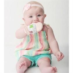 Mouthie Mitten - Mouthie Mitten Diş Kaşıyıcı Eldiven Pastel Pembe