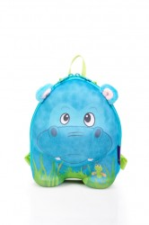 Okiedog - Okiedog Wildpack Çocuk Okul Sırt Çantası - Hipopotam