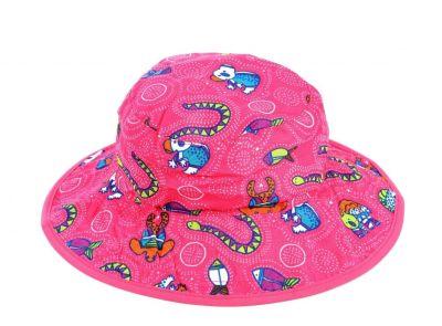 - Banz 50+ UV Koruma Çift Taraflı Güneş Şapkası 0-2yaş 17435