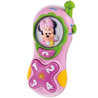 Clementoni - Clementoni Disney Baby Minnie Cep Telefonu