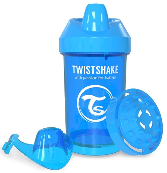 Twistshake - TwistShake CrawlerCup 300 ml Suluk Mavi