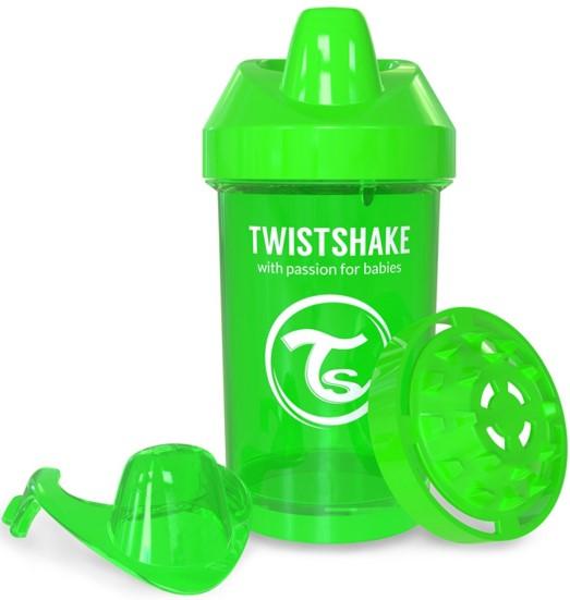 Twistshake - TwistShake CrawlerCup 300 ml Suluk Yeşil