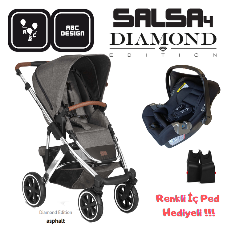 ABC DESIGN - ABC Design Salsa Diamond Edition Asphalt - Black Set