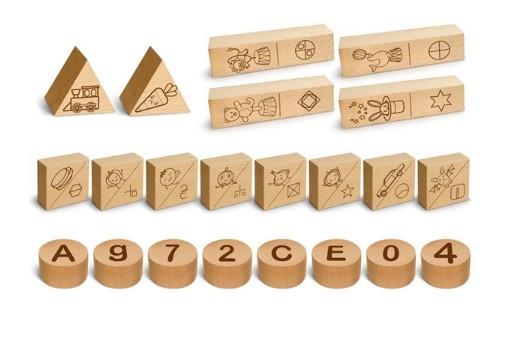 Adeda Yayıncılık Dikkati Güçlendirme Seti Plus - 90 Parça Ahşap - Thumbnail