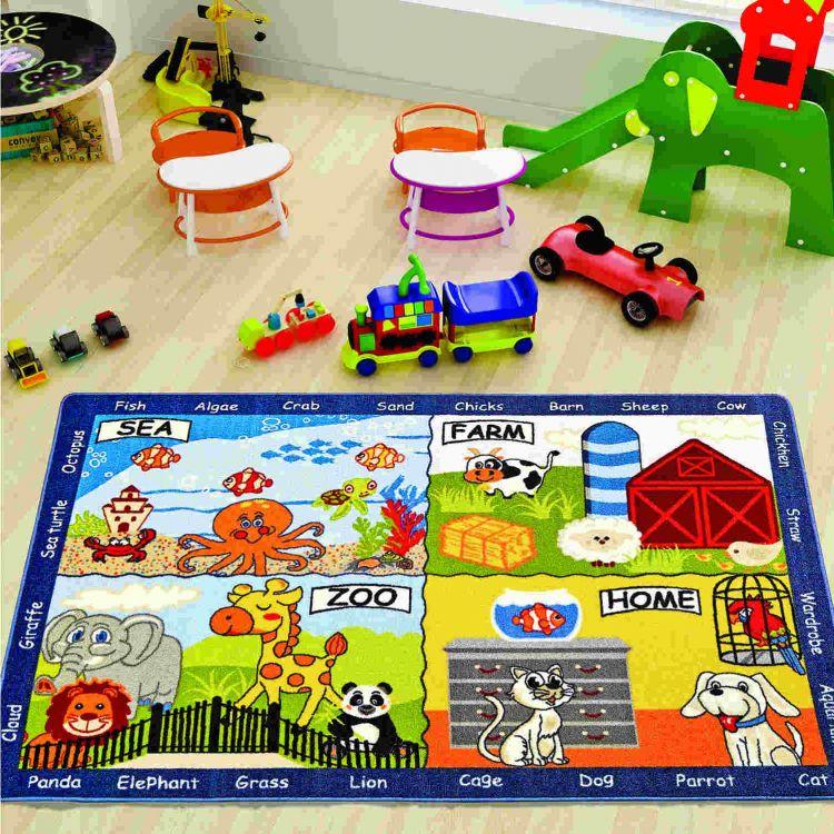 Confetti - Confetti Animal World 133x190 Mavi Bukle