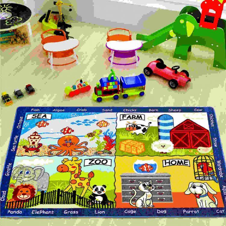 Confetti - Confetti Animal World 200x290 Mavi Bukle
