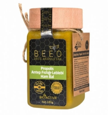 Beeo - BEE'O 180gr Antepfıstığı +Leblebi + Ham Bal + Propolis