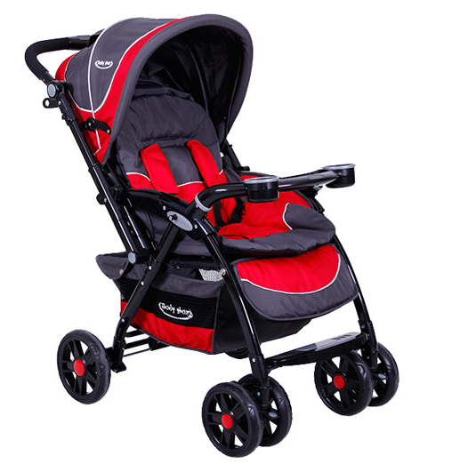 Baby Max - Baby Max Venti Çift Yönlü Bebek Arabası Kırmızı