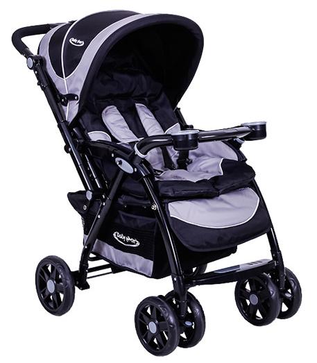 Baby Max - Baby Max Venti Siyah Çift Yönlü Bebek Arabası