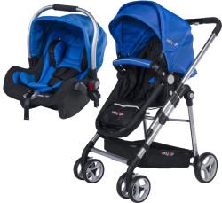 Baby2Go - Baby2Go 6035 Fidello Travel Puset - Mavi