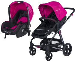 Baby2Go - Baby2Go 6036 Dolce Travel Puset - Pembe