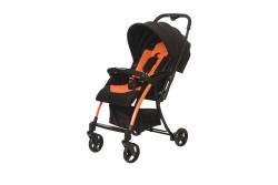 Baby2Go - Baby2Go 8020 Pinna Lüks Çift Yönlü Bebek Arabası Turuncu