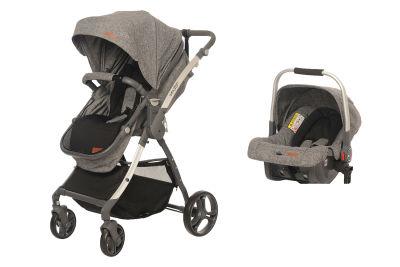 Baby2Go - Baby2Go 8047 Future Travel Sistem Bebek Arabası Gri