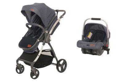 Baby2Go - Baby2Go 8047 Future Travel Sistem Bebek Arabası Jean