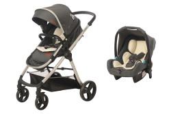 Baby2Go - Baby2Go 8050 Viber Lx Travel Sistem Bebek Arabası Gri
