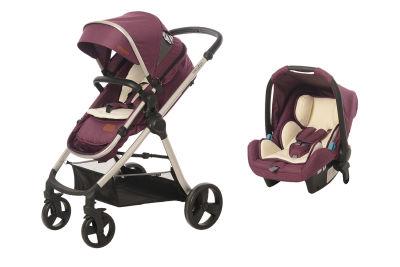 Baby2Go - Baby2Go 8050 Viber Lx Travel Sistem Bebek Arabası Mor