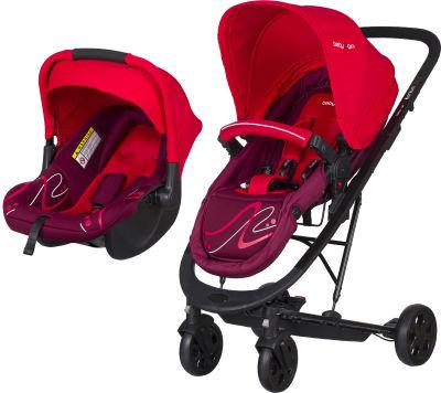 Baby2Go - Baby2Go 86050 Millenium T/S Bebek Arabası Kırmızı