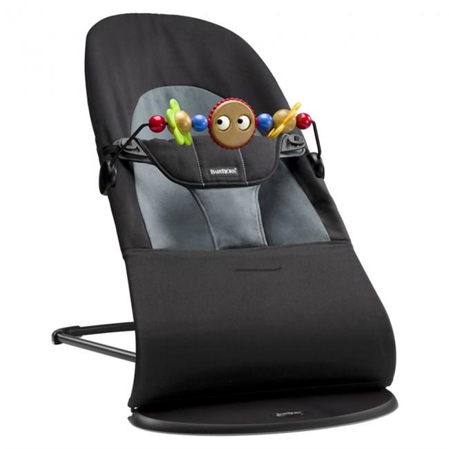 BabyBjörn Balance Ana Kucağı & Oyuncak Soft Black / Dark Grey - Thumbnail