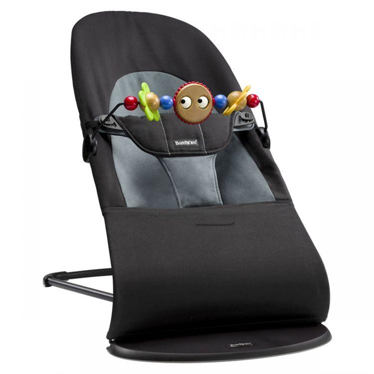 BabyBjörn - BabyBjörn Balance Ana Kucağı & Oyuncak Soft Black / Dark Grey (1)
