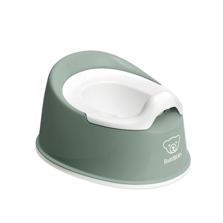 BabyBjörn - BabyBjörn Eğitici Oturak Smart Potty / Deep Green