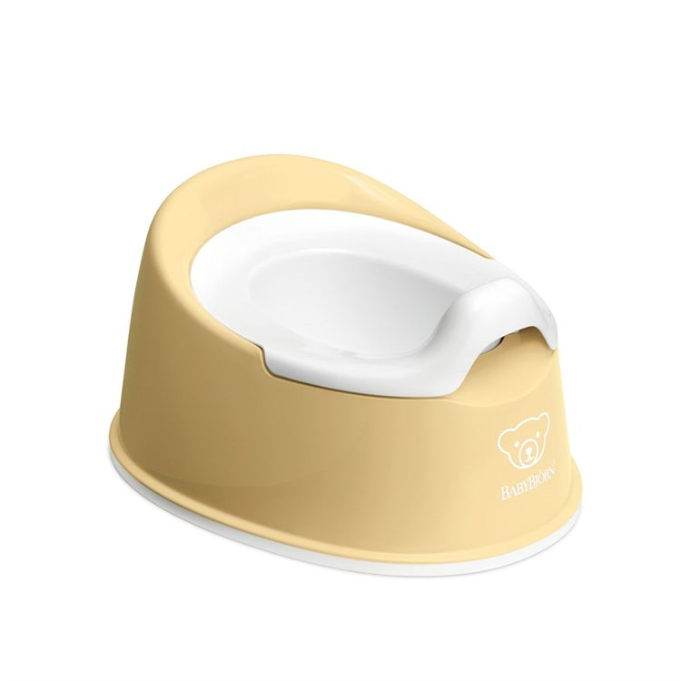 BabyBjörn - BabyBjörn Eğitici Oturak Smart Potty / Powder Yellow