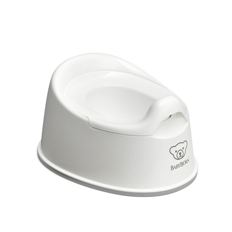 BabyBjörn - BabyBjörn Eğitici Oturak Smart Potty / White Grey
