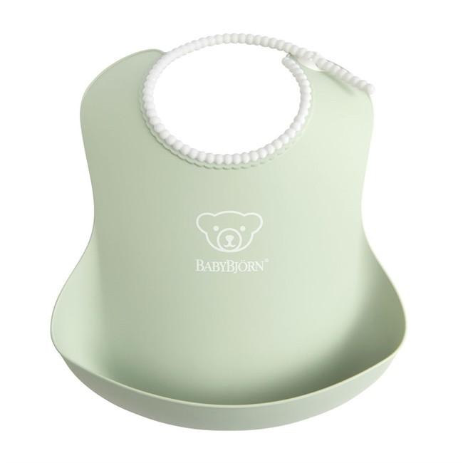 BabyBjörn - BabyBjörn Yumuşak Plastik Mama Önlüğü / Powder Green